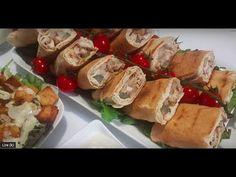 Mini sandwich avec une superbe sauce blanche ساندويتشات شاورما وصلصة بيضاء بكمية وفيرة - YouTube Mini Sandwiches, Sandwich Kebab, Food Wallpaper, Totalement, Ethnic Recipes, Paninis, Hamburgers, Diners, Sauces