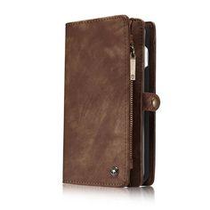 Magnetic Wallet Phone Bag Case
