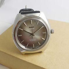 HMT Ajeet Mechanical 17 Jewels Men s wrist watch Vintage Collectible | eBay