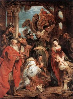 """Adoration Of The Magi"" - Peter Paul Rubens.  Art Experience NYC  www.artexperiencenyc.com/social_login/?utm_source=pinterest_medium=pins_content=pinterest_pins_campaign=pinterest_initial"