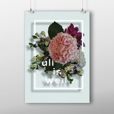 All is well -art print All Is Well, Fun Stuff, Bloom, Art Prints, Vintage, Design, Fun Things, Art Impressions