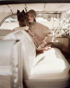 Model photographed by Karen Radkai 1957