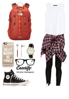 """""""back to school contest!!!"""" by brochujuliafaith ❤ liked on Polyvore featuring Cutie Fashion, Converse, MANGO, Beats by Dr. Dre, Muse, Breda, The North Face, Casetify and ItsBTStime"""