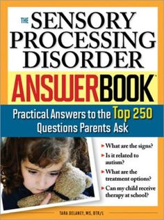 Tips on taking a Child to Disney: The Sensory Processing Disorder Answer Book - Cover image courtesy of Sourcebooks