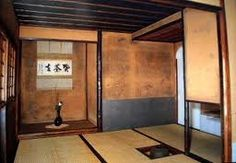 Famous Japanese tea ceremony houses or Chashitsu in Japan