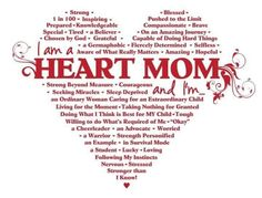#CHD #Heart Mom Midwest Heart Connection