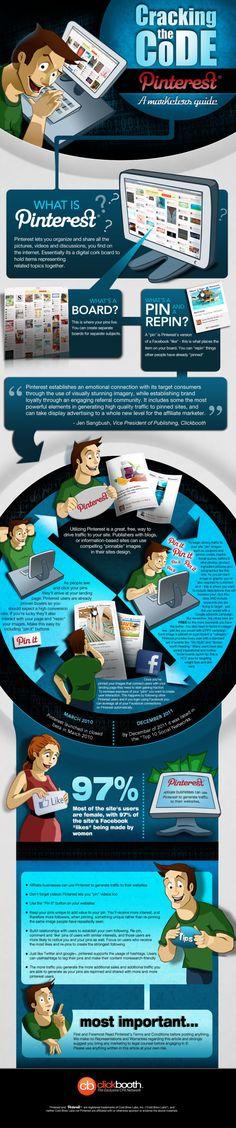 Pinterest a marketers guide #infografia #infographic #socialmedia #marketing