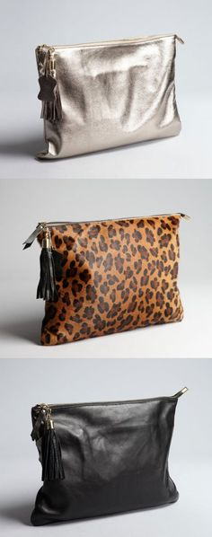 Clutch crush on these Wyatt oversized clutches