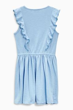 Buy Blue Jersey Dress (3-16yrs) from the Next UK online shop