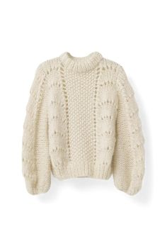 Ganni Special Holiday Picks |  The Julliard Mohair Pullover, Vanilla Ice