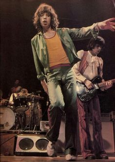 The Glimmer Twins - Mick & Keith
