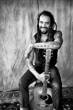 Michael Franti-my yoga-posing, soul-sharing, guitar-playing brother from another mother.  Peace!