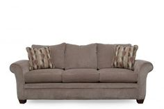 LZB-61/491-C993763 - La-Z-Boy Natalie Dove Sofa | Mathis Brothers Furniture