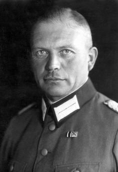 Heinz Wilhem Guderian as a young army officer. He was to become a legendary panzer general with a decisive impact on the technical/doctrinal development of armor in WW2.
