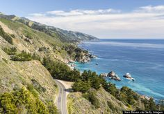 CALIFORNIA Drive State Route 1 through Big Sur Nothing is more California than a coastal road trip, and this one will take you past some of the most precious views on Earth. Stop at Nepenthe for sunset cocktails on cliffs over the water.