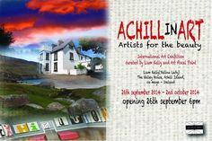 Art on Achill Island Ireland Embedded Image Permalink, Save The Date, Ireland, Twitter, Artist, Exhibitions, Artists, Irish, Wedding Invitation