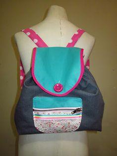 Mi última creación! Una mochila super colorida para la primavera! <3    http://lavidaestandeliciosa.blogspot.com.ar/2012/09/mochila-mochila.html
