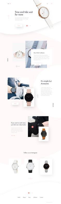 Sleek website design.