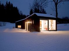 The Vato guest house, near Stockholm,  452 sq. ft.