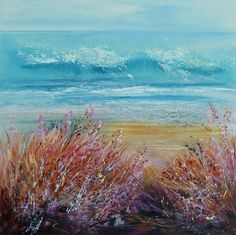 Sue Read ~ Colours of the Coast, Cornwall Beach Paintings, Cornwall, Giclee Print, Beaches, Coast, Colours, Deep, Oil, Landscape