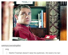 Martin Freeman (gif). I don't know why this is so funny.