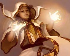 Priestess of Light by Sycra.deviantart.com on @deviantART