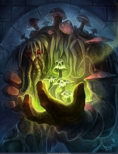 Loatheb - Hearthstone: Heroes of Warcraft Wiki Fantasy Kunst, Fantasy Art, Hearthstone Heroes Of Warcraft, World Of Warcraft Wallpaper, Magical Monster, Swamp Creature, Warcraft Art, Blizzard Hearthstone, Animal Magic