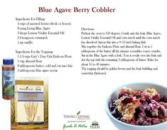Blue Agave Berry Cobbler