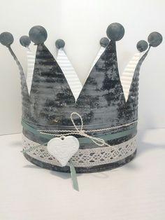 ganz einfach aus einer alten Konservendose eine DIY Krone machen - schöne Deko Idee