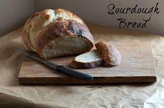 Sourdough Bread - A delicious and easy recipe: myculturedpalate.com/blog/2013/11/05/sourdough-bread/
