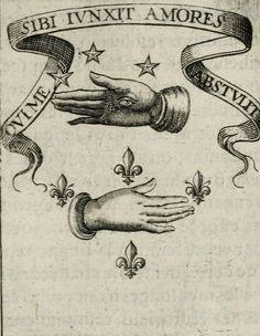 """""""Qvi me sibi ivnxit amores abstvlit"""" from Devises royales (1621) – Adrian d'Amboise. (Provient de deux vers de l'Énéide de Virgile : """"Ille meos, primus qui me sibi junxit, amores abstulit : ille habeat secum, servetque sepulcro"""" [""""Le premier à qui mon sort fut uni emporte mon cœur dans le tombeau""""])"""