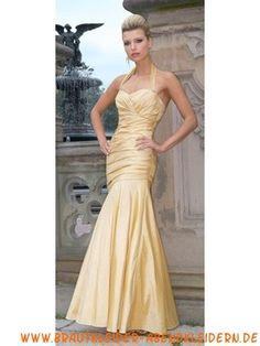 Meerjungfrau Sexy elegantes Abendkleid aus Taft
