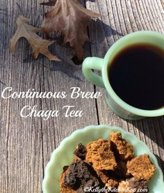If you need some alternatives for coffee, you'll want to try chaga tea! I'm one of those that loves a hot drink in my hand any time of the year...