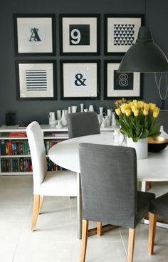 Graue wand Interior, Grey Walls, Homes, Ideas, Indoor, Interiors