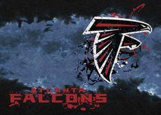 NFL Team Fade Atlanta Falcons Novelty Rug