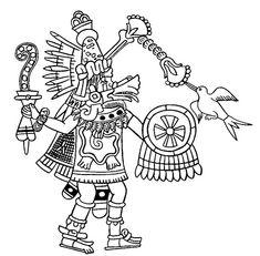 Mexico - Quetzalcoatl as Wind God