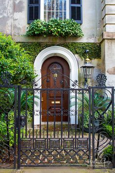 Entry way in Historic Charleston, SC