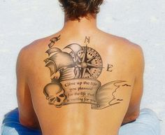 This article has info on some nautical tattoo meanings, also like this quote~DJ
