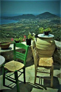 Paros Greece, Outdoor Furniture Sets, Outdoor Decor, Santorini, Island, Home Decor, Greece, Viajes, Block Island