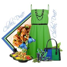 """chichen dinner"" by countrycousin on Polyvore"