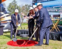 Groundbreaking at #OrangeCountyGreatPark for the new ice facility, image by Andy Schmidt #OCPhoto2017 #OrangeCounty #SoCal #californialiving