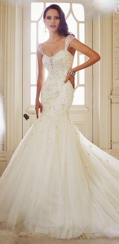Elegant Sophistication ~ Sophia Tolli Fall 2014 Bridal Collection | bellethemagazine.com