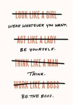 Don't work like a boss, BE the boss!