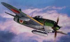 Kawanishi N1K1-Ja Shiden Type 11 'George' (Tamiya box art)
