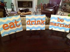 Stock the bar signs