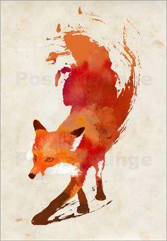 Poster vulpes vulpes