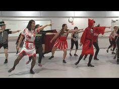 Happy Halloween | Rocky Horror Time Warp Tap Routine | Sydney Dance Company Studios - YouTube