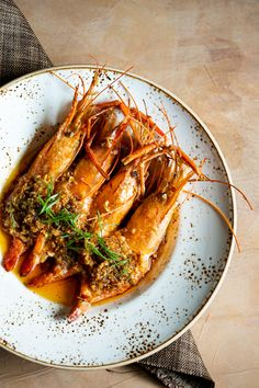 Butter Poached Scampi with burnt garlic chili sauce now available on our dinner menu, Monday through Sunday. Let's get cracking! Chili Garlic Sauce, New Menu, Scampi, Dinner Menu, Cheesesteak, Mumbai, Seafood, Sunday, Butter