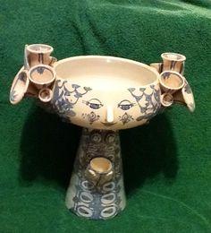 My Bjorn Wiinblad Face Vase 20th Century