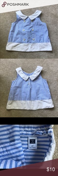 Janie and jack top In good condition. Janie and Jack Shirts & Tops Tank Tops